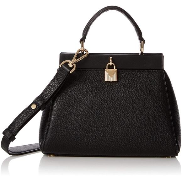 Michael Kors Handbags - Michael Kors Gramercy Small Pebbled Satchel